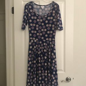 LulaRoe Dress Rn 142161 Sz M